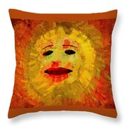 Here Comes The Sun Two Throw Pillow