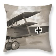 Here Comes Trouble 3 Throw Pillow by Mike McGlothlen