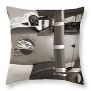 Here Comes Trouble 4 Throw Pillow