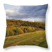 Here Hear The Earth Breathing Throw Pillow