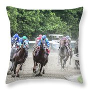 Here Is Mud In Your Eye Throw Pillow