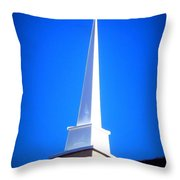 Here Is The Steeple Throw Pillow