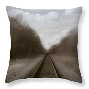 Here That Train Throw Pillow