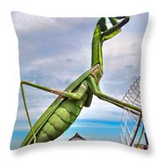 Here They Come Throw Pillow