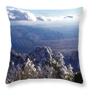 Here We Are Throw Pillow