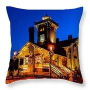 Hereford Christmas Throw Pillow