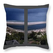 Hereford Inlet Throw Pillow