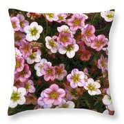 Here's Flowers For You Throw Pillow