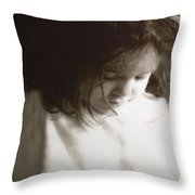 Here's My Heart Throw Pillow