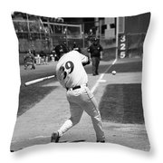 Heres The Pitch Throw Pillow