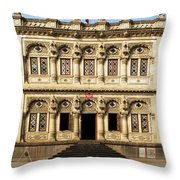 Heritage Building Throw Pillow
