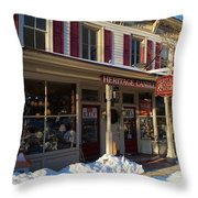 Heritage Candle Throw Pillow