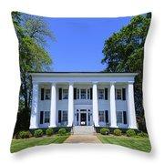 Heritage Hall In Madison Georgia Throw Pillow