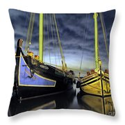 Heritage In Mirrored Water Throw Pillow