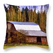 Heritage Remembered Throw Pillow