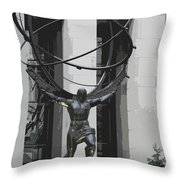 Herkules Abstract Nyc Throw Pillow