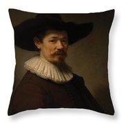 Herman Doomer Throw Pillow
