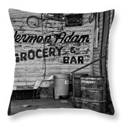 Herman Had It All Bw Throw Pillow