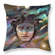 Hermes Throw Pillow by Ursula Freer
