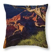 Hermit Rest Grand Canyon National Park Throw Pillow