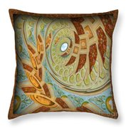 Hermitage Abstract Swirl  Throw Pillow