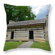Hermitage Slave Quarters Throw Pillow