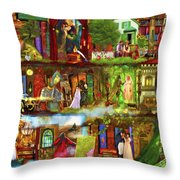 Heroes And Heroines Throw Pillow