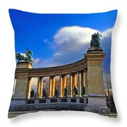 Heroes Square Throw Pillow