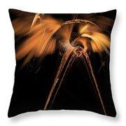 Heron - Marucii Throw Pillow