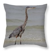 Heron Throw Pillow
