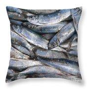 Herrings Throw Pillow