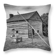 Hetchler House Farmstead Throw Pillow