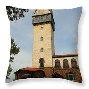 Heublein Tower Throw Pillow