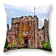 Hever Castle Throw Pillow by Chris Thaxter