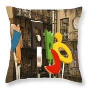 Hewitt Sculpture Throw Pillow