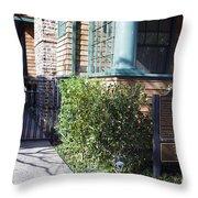 Hewlett Packard Garage Palo Alto California Throw Pillow
