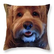 Hey I'm Charley Throw Pillow