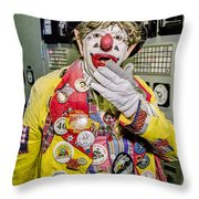 Hey Kids Here's Jp Throw Pillow
