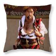 Hey Ladies Throw Pillow