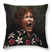 Hey Mister Throw Pillow