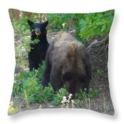 Hey Mom Save Some For Me  Throw Pillow