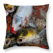 Hey Whats Happening Throw Pillow