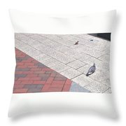 Hey You This Is My Spot Throw Pillow