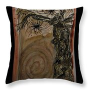 Hi - I'm A Tree And What Are You ? Throw Pillow