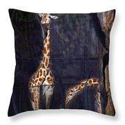 Hi There Oryx Throw Pillow