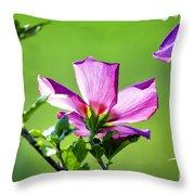 Hibiscus 04 Throw Pillow