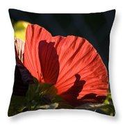 Hibiscus 10 Throw Pillow