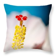 Hibiscus No. 2959 Throw Pillow