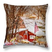 Hickory Lake Woodworks Throw Pillow