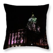 Hidden Capitol Throw Pillow
